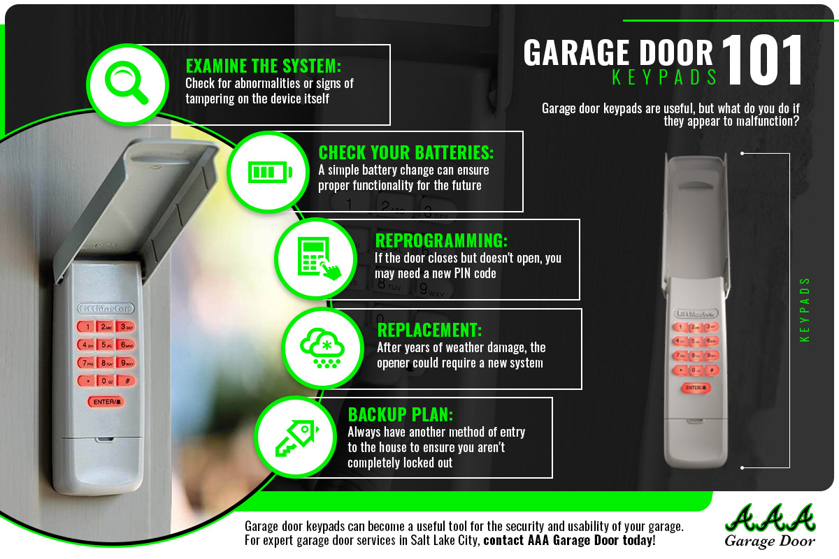 Why Is Your Garage Stuck Solving Keypad Issues Aaa Garage Door Inc